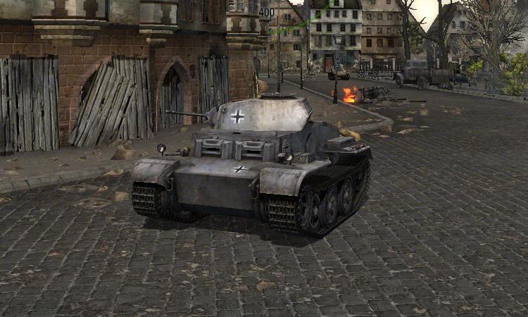Танк Pz II