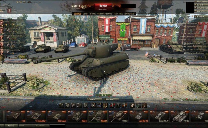 Особенности игры на EUсервере в World of Tanks